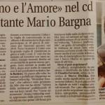 Mario Bargna nuovo singolo LIBERA E INAFFERRABILE estratto dal Cd L'ATOMO E L'AMORE